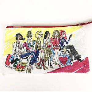 Brighton Fashionista Makeup Bag Pouch